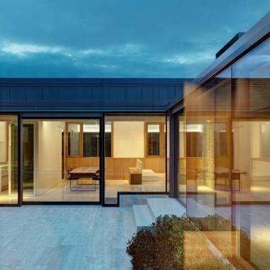 Arredamento di design in abitazione privata